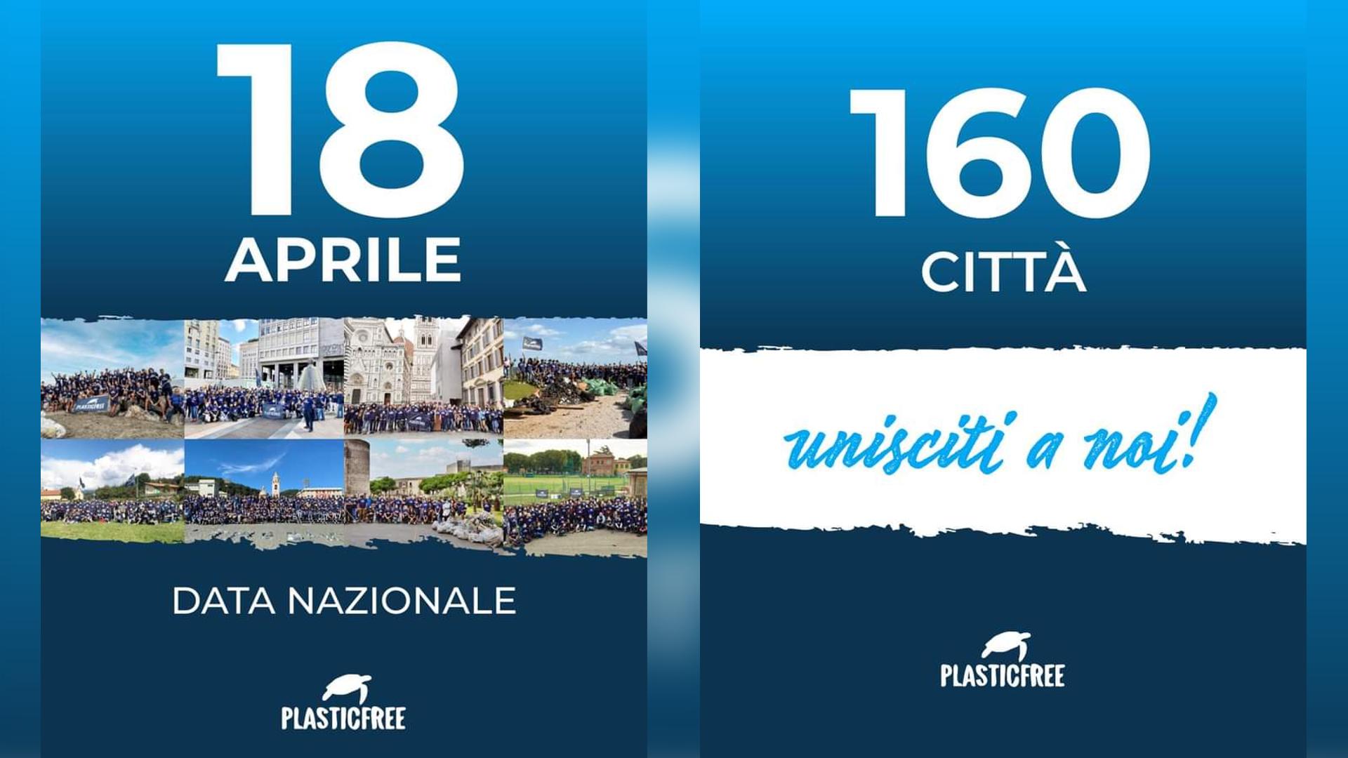AppNRun sostiene Plastic Free Walk nella sua data nazionale del 18 aprile!