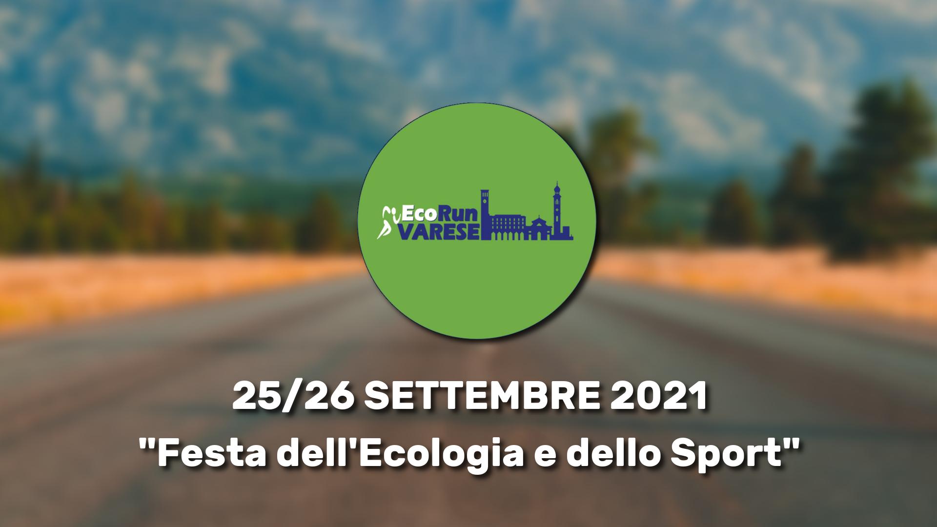 EcoRun Varese, evento eco-solidale in programma a fine settembre