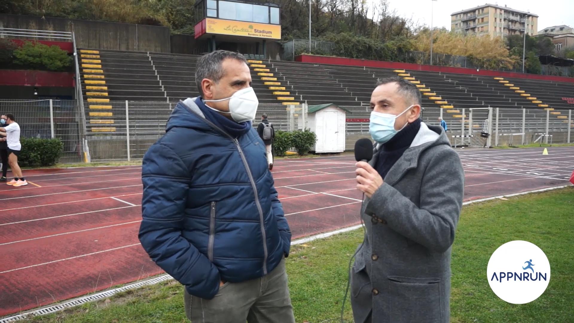 Staffetta di Natale: Giordano intervista Orfanelli